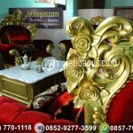 Kursi Sofa Ukir Gold